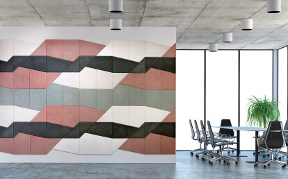 "Milleforma ""Modulo Base"" Office wall"
