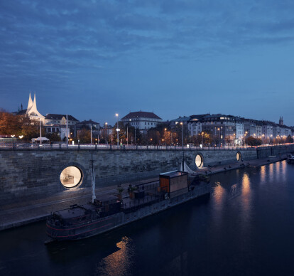 Revitalization of Prague riverfront area