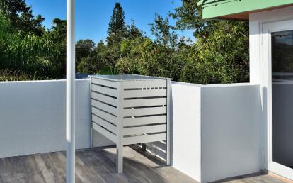 Small Aluminum Enclosure for Dangerous Equipment