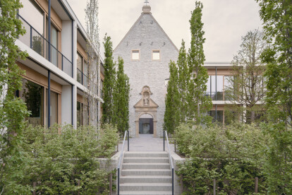 Conversion of Jacoby Studios reveals the fabric of a historic monastery once again