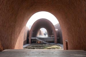 Jingdezhen Imperial Kiln Museum incorporates ancient kiln tectonics and materials