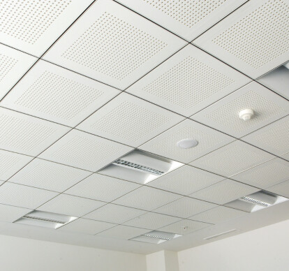 ACOUSTIC GYPSUM BOARD PLATE SUSPENDED CEILING SYSTEM