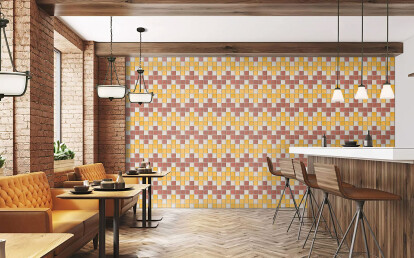Quadrato 8 cotton tiles is the perfect combination of design and performance