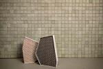 Quadrato 8 cotton linters mosaico wall fo Les Arcanistes the Studiopepe's Manifesto Project