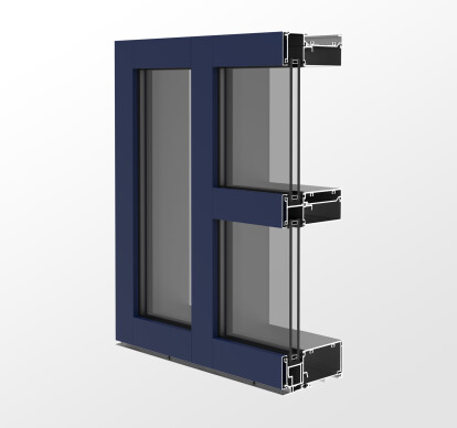 YWE 60T Thermally Improved, High Performance Window Wall System