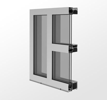 YWW 40T Thermally Broken Window Wall System