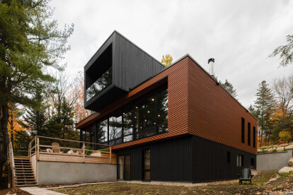 Canadian countryside home demonstrates the merits of prefabrication