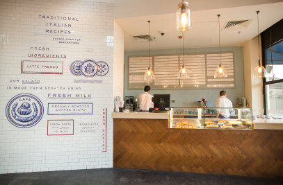 Little Italy in Taj Mall