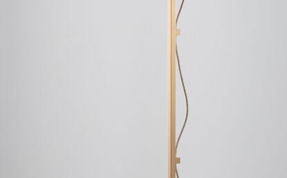 Lumi Floor Lamp Brass drunken emerald/drunken emerald shade