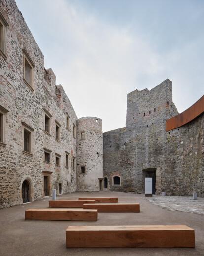 Helfštýn Castle Palace Reconstruction