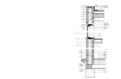 Lewisham Strip detail with notes