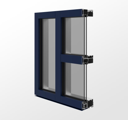 YWE 40 T Thermally Improved, Front Loading Window Wall System