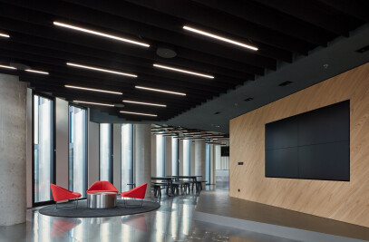 Office as a spaceship for EOH IT Hub
