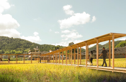 Wiki World:Co-building in rice field:Rice Pavilion