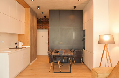 Modern Small Apartment in Kyiv