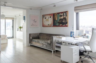 Pink & White Apartment
