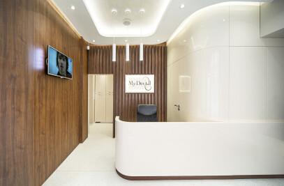 "Dental Studio ""My Dental""- Interior design project"