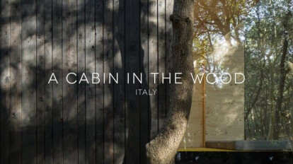 A Cabin in the Wood, Italy by PLUSULTRA Studio