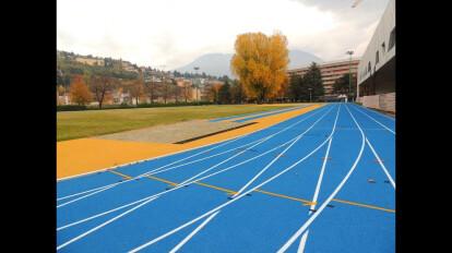 Manutenzione Campo CONI atletica leggera