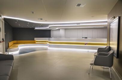 IASO, Renovating the public waititng room