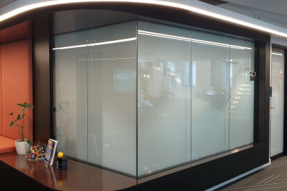PRIVIGLAZE Smart Glass Partition & Door