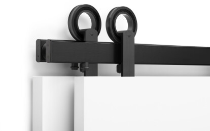 Baldur Top Mount in Black Stainless - Bypass Configuration