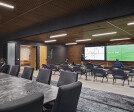 Board room combined with customer experience center.