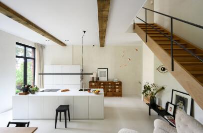 Sustainable urban villa Amsterdam
