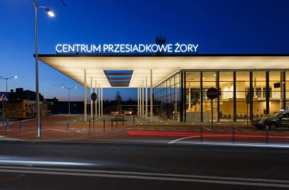 Interchange station in Żory