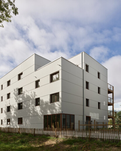 45 HOUSING UNITS_ ZAC Erdre Porterie