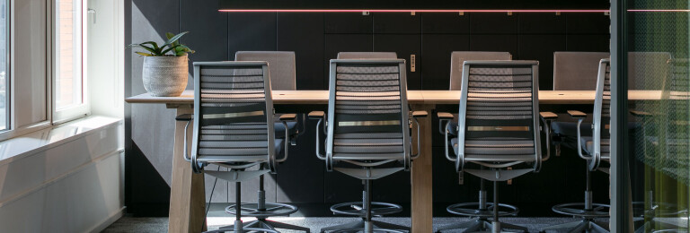 IT Company workplace