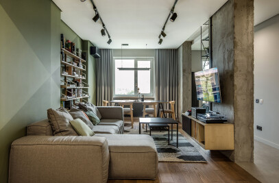 Apartment for a Cinema Fan