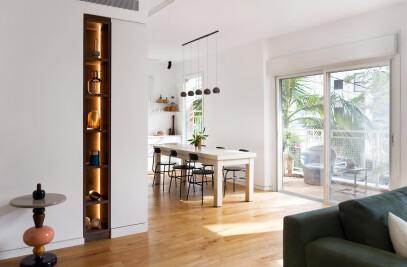 A minimalist apt. in Tel Aviv