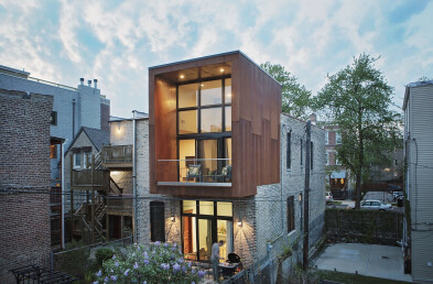 Cortez Street House Section Details