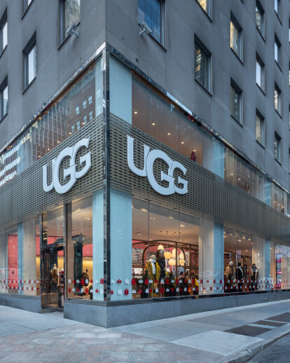 UGG's New Flagship Retail Store in NYC