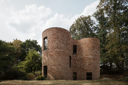 Experimental gjG House explores the integrity of brick architecture