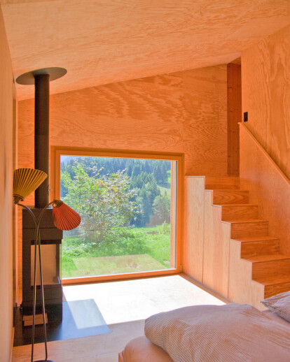 Extension Holiday Home in the Swiss Alps