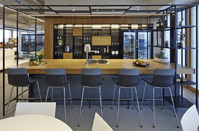 Tel Aviv HQ for an American-based company