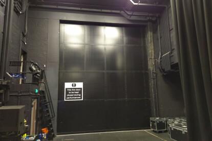 Clark Door Acoustic and Fire Rated Horizontal Sliding Door