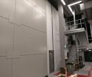 Clark Door Acoustic and Fire Rated Horizontal Sliding Door and Steel Hinged Door