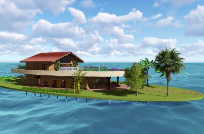 Kiribati Floating House