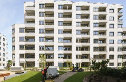 Four houses in Maximilians Quartier