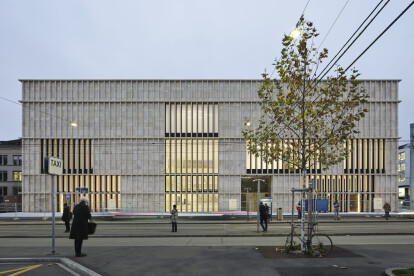 Chipperfield completes limestone Kunsthaus extension in Zürich