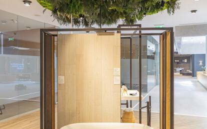Green ceilings  Moss&Plants Mid