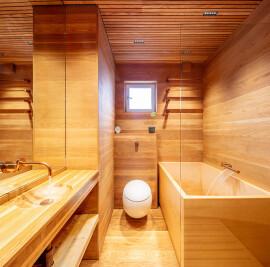 Oak Bathroom
