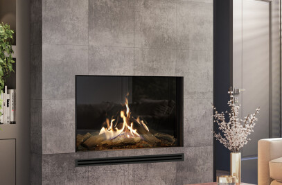 "MatriX Gas Fireplace (52-1/8"" W | Front-facing)"