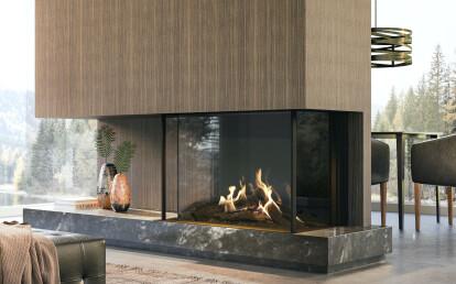MatriX Bay Gas Fireplace