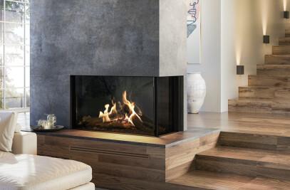 "MatriX Gas Fireplace (53-1/4"" W | Right-facing)"