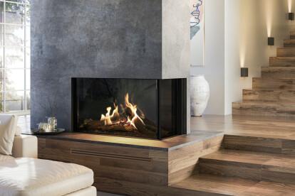 "MatriX Gas Fireplace (53-1/4"" W   Right-facing)"