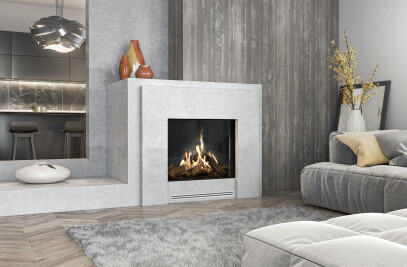 "45-3/8"" W MatriX Gas Fireplace | Front-facing"